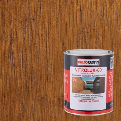 Barniz para madera brillante 1/4 gl nogal