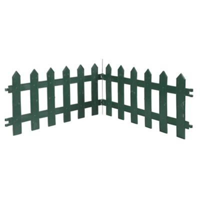 Reja para jardín de plástico 300 cm Verde