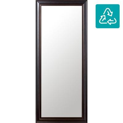Espejo rectangular 50x120 cm café