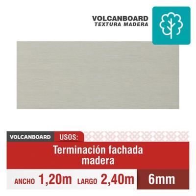 6 mm 120 x240 cm Placa de Volcanboard textura madera