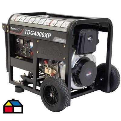 Generador eléctrico a diesel 3000 W