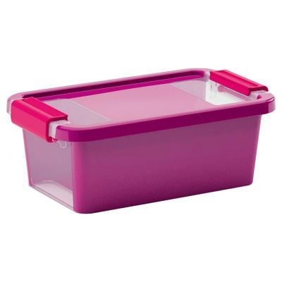 Caja organizadora 3 litros 16x26,5x10 cm fucsia