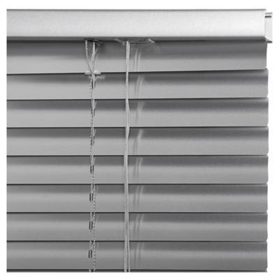 Persiana aluminio 80x165 cm plateado