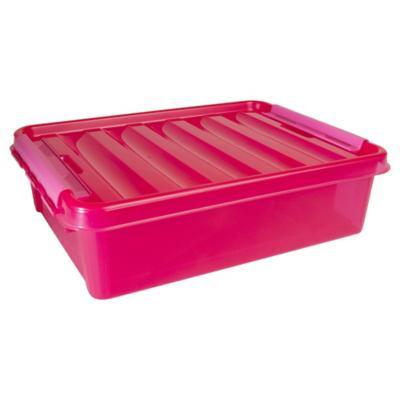 Caja Clip 8 litros Fucsia