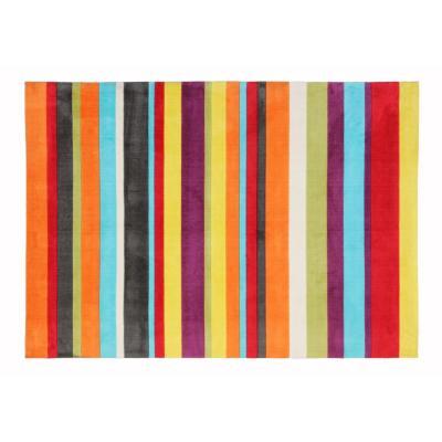 Alfombra Rayas 160x230 cm multicolor