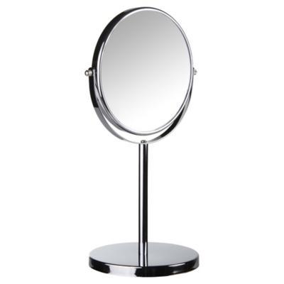 Espejo cosmético 17 cm cromado