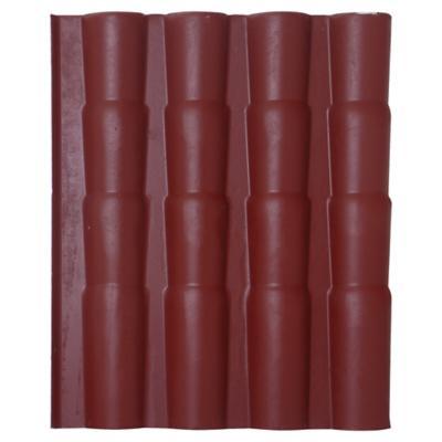 1180 x 980 mm Teja fibrocemento Chilena Rojo