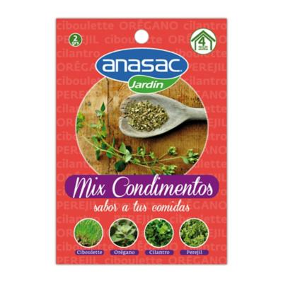 Mix semillas condimentos 2 gr sachet