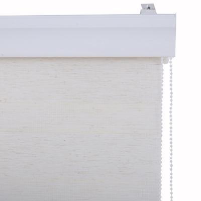 Cortina enrollable duo 80x165 cm look lino