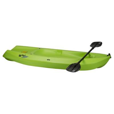 Bote kayak plástico verde
