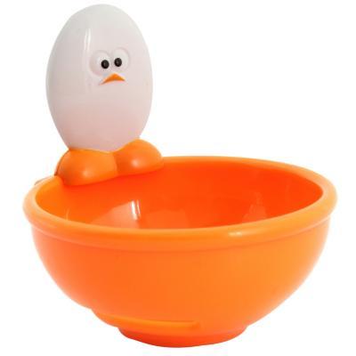 Separador de huevo naranjo