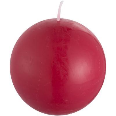 Vela decorativa 12 cm rojo