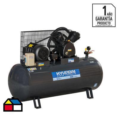 Compresor de aire 5,5 HP 300 litros