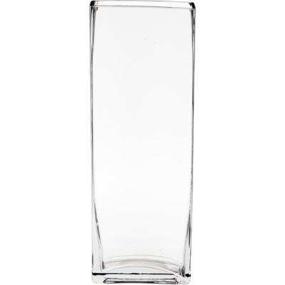Florero 30x10x5 cm vidrio Transparente