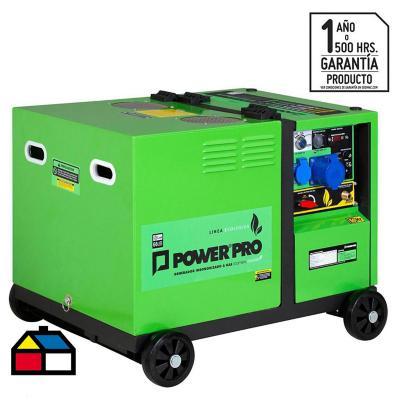 Generador eléctrico a gas insonorizado 5000W