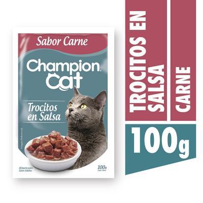 Alimento húmedo para gato adulto 100 g carne