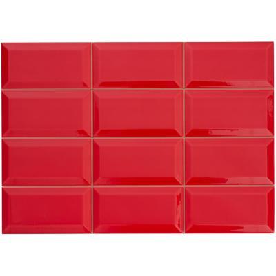Cerámica rojo 31x45 cm 1,4 m2
