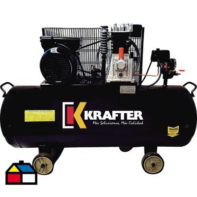 Compresor de aire 3 HP 100 litros