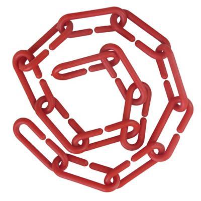 Cadena plástica 1 m rojo