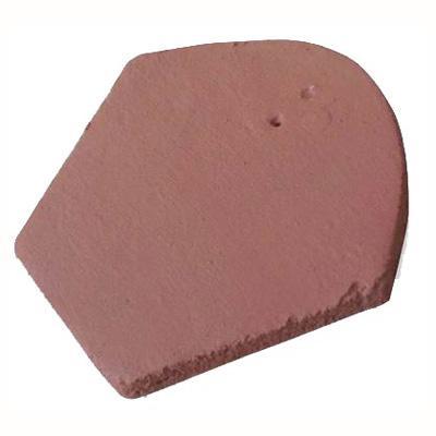 200 x 185 mm Frontón Colonial Rojo Arcilla Inicio