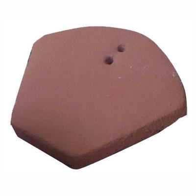 160 x 135 mm Frontón Colonial Rojo Arcilla Término