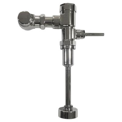 Fluxómetro para urinario cromado