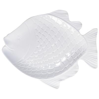 Plato 42 cm blanco