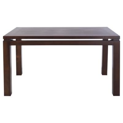Mesa de comedor 78x90x150 cm café