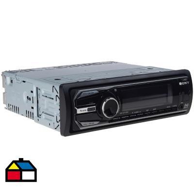 Radio para auto USB 5 cm x 17 cm x 19 cm negro