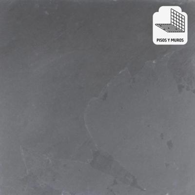 Piedra pizarra negro 60x60 cm 1,08 m2