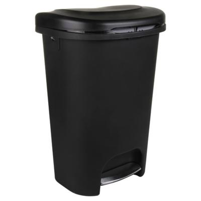 Basurero de Plástico 49 Lts Negro
