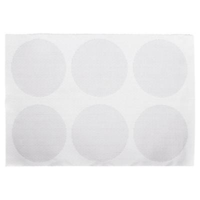 Individual 30x45 cm PVC blanco