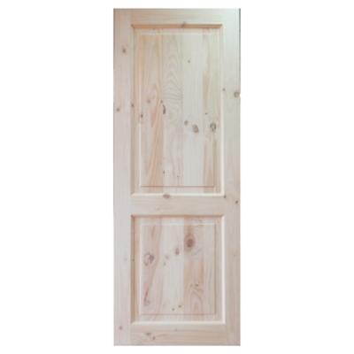 Puerta Pino con nudo 2 paneles 70 x 200 cm