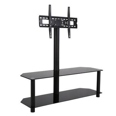 Rack de TV 130x120x40 cm negro