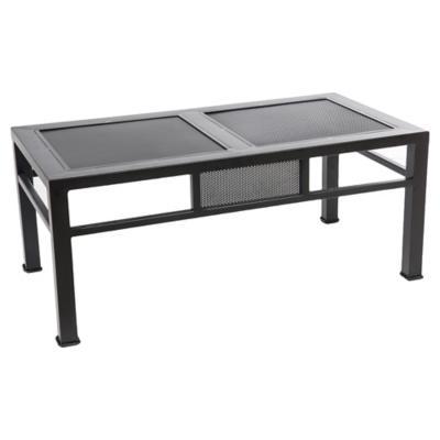 Mesa lateral 90x55x40 cm Negro