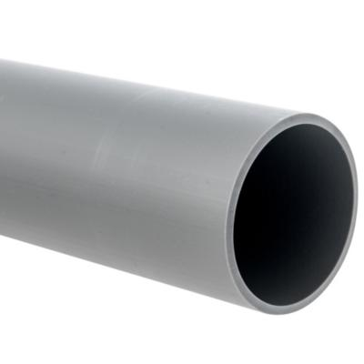 Tubo PVC-S 75mm x 1m  Gris Cementar