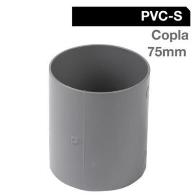 Copla PVC-S Cementar 75mm Gris 1u