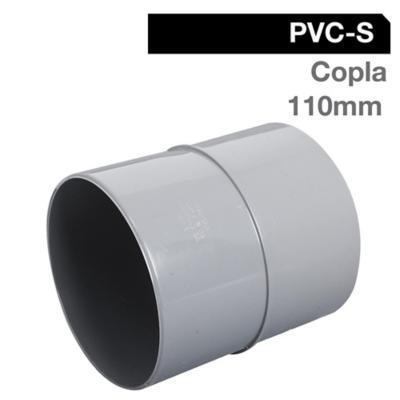 Copla PVC-S Cementar 110mm Gris 1u