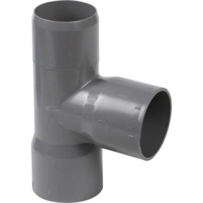 Tee PVC-S Cementar 40mm x 40mm Gris 1u
