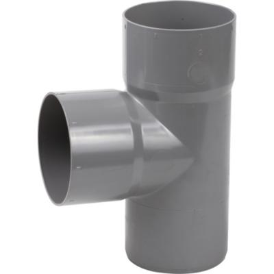 Tee PVC-S Cementar 75mm x 75mm Gris 1u