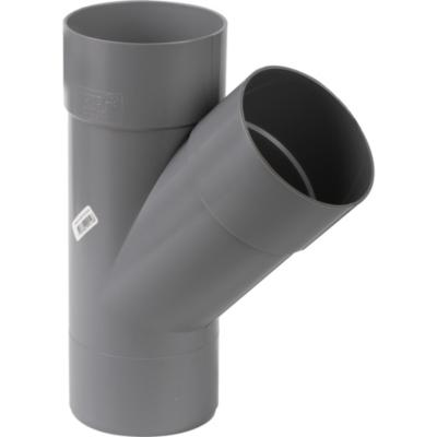 Vee PVC-S Cementar 110mm x 110mm Gris 1u