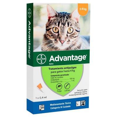 Tratamiento antipulgas para gato 4 kg