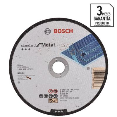 "Disco de corte metal 7"""