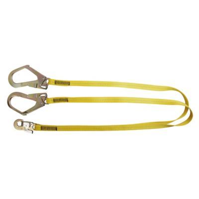 Kit cabo de vida + gancho escala amarillo