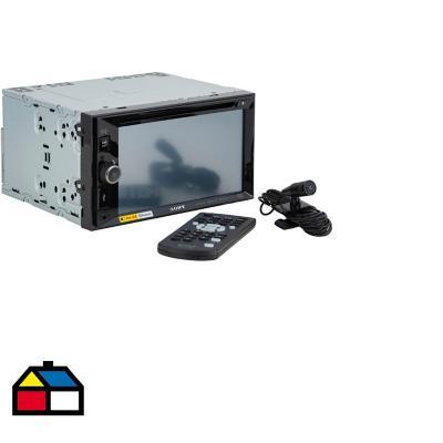 Radio para auto Bluetooth con control remoto