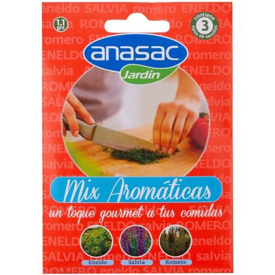 Mix semillas aromáticas 1,5 gr sachet