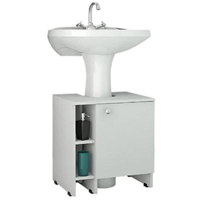 Mueble bajo lavamanos 50,5x47x37,4 cm Blanco