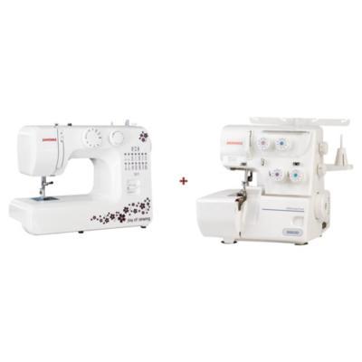 Combo máquinas de coser eléctricas