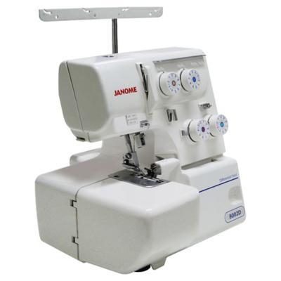 Máquina de coser overlock eléctrica