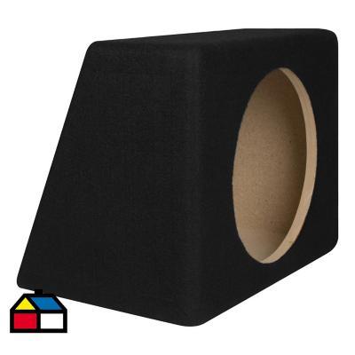 """Caja acústica para auto 12"""" madera"""